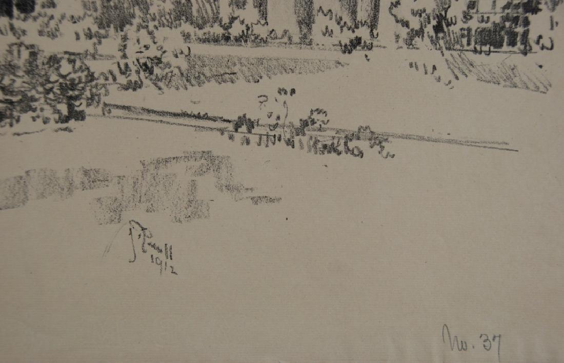 Joseph Pennell- 2 prints - 8