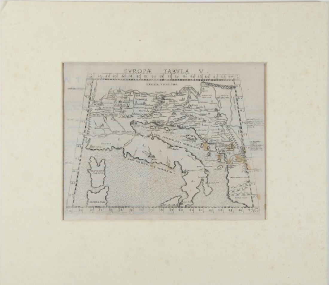 Girolomo Ruscell map - 2