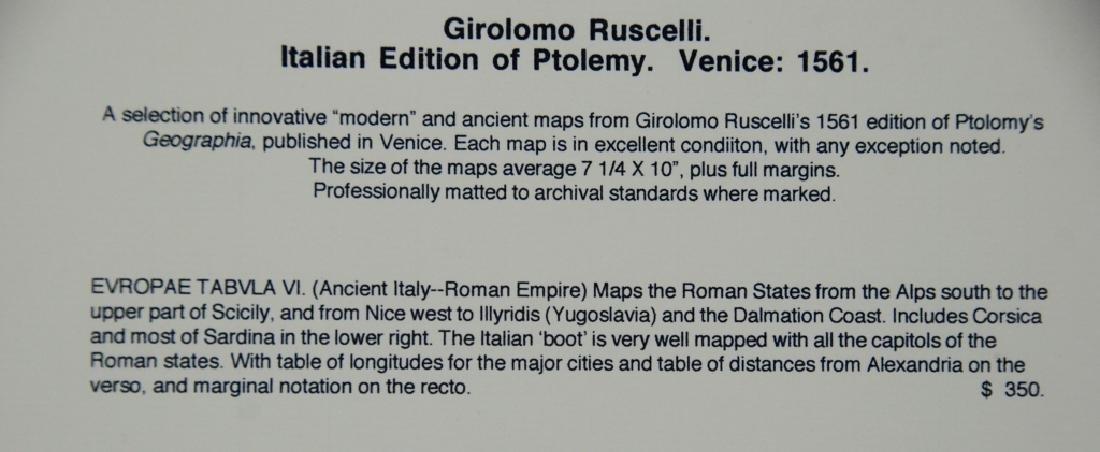 Girolomo Ruscell map - 7