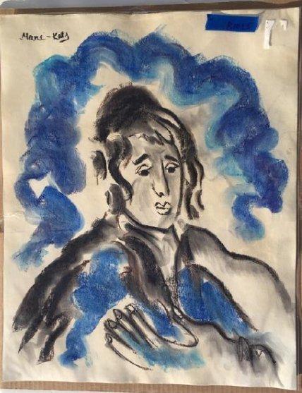 Mane Katz (1894-1962) French/Israeli