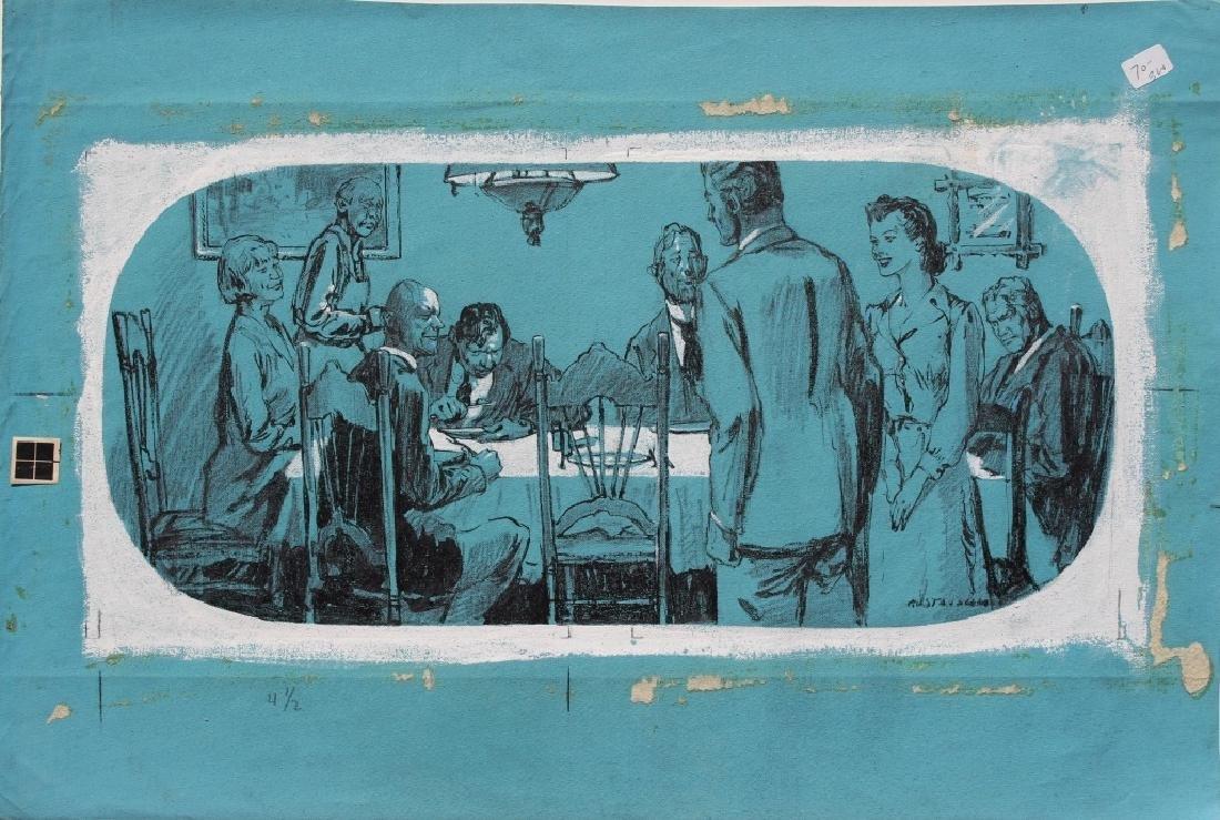 Leland Gustavson (American 1894-1966) - 2