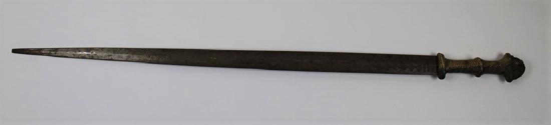 Snake skin sword and holder - 2