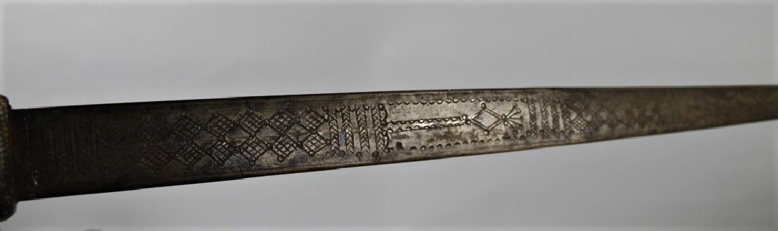 Snake skin sword and holder - 4