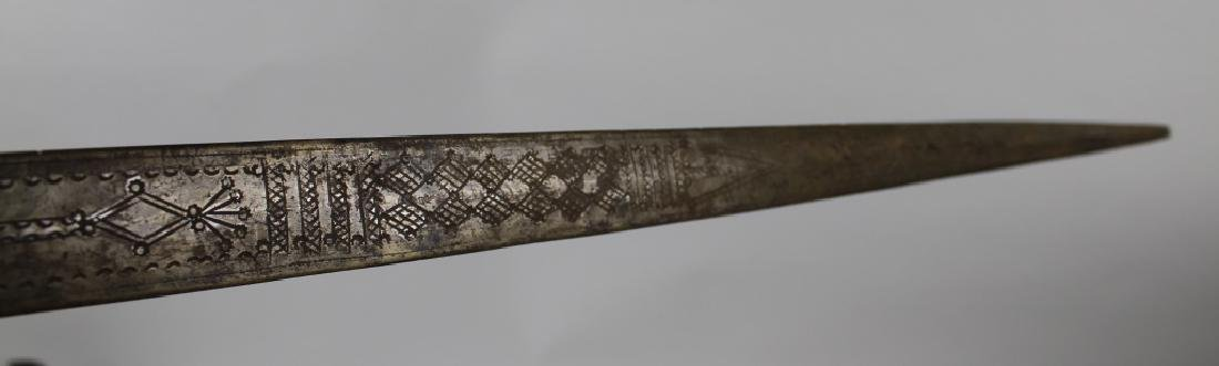 Snake skin sword and holder - 5