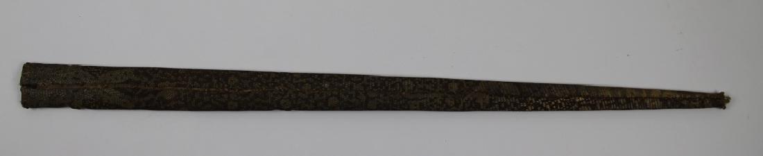 Snake skin sword and holder - 6