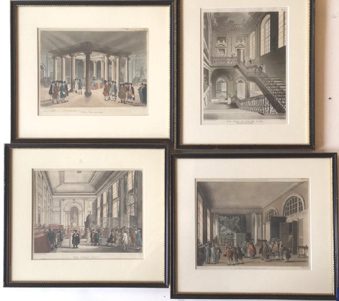 14 London scenes, Rowlanson & Pugin - 2
