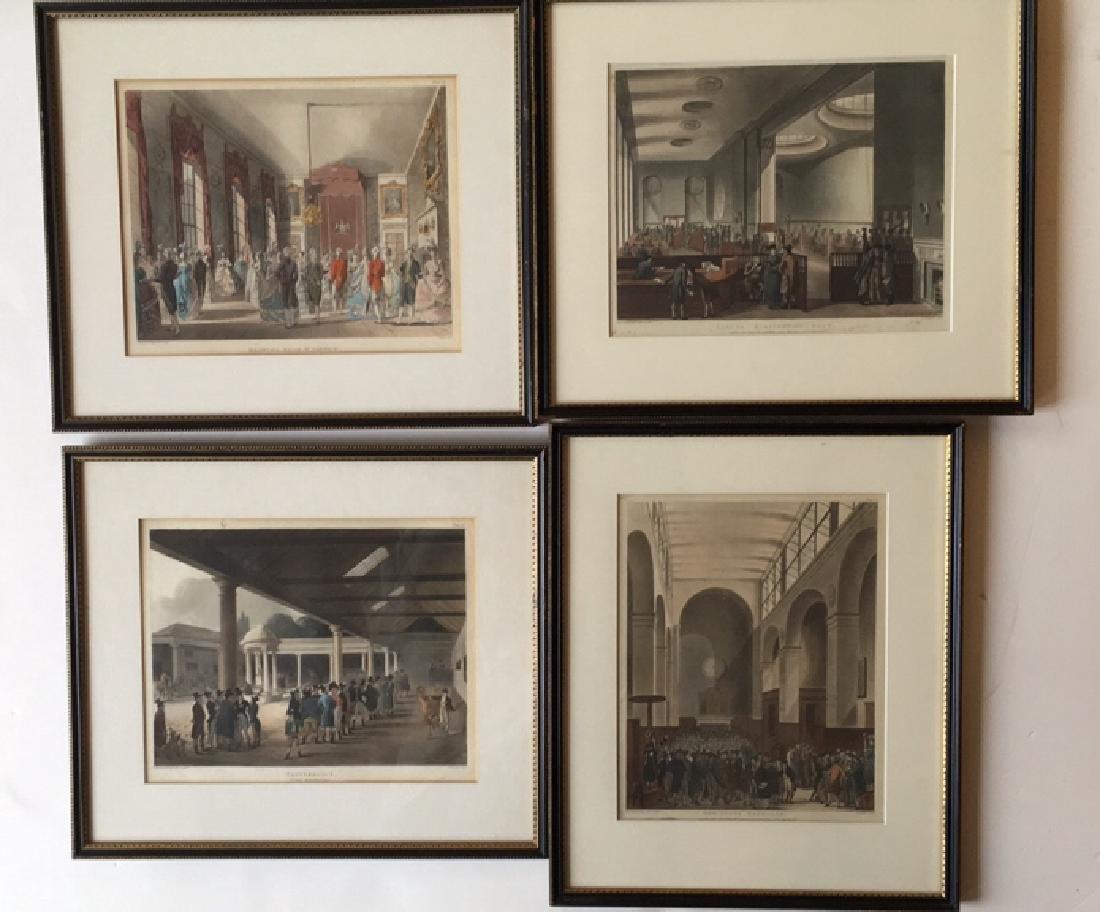 14 London scenes, Rowlanson & Pugin - 3