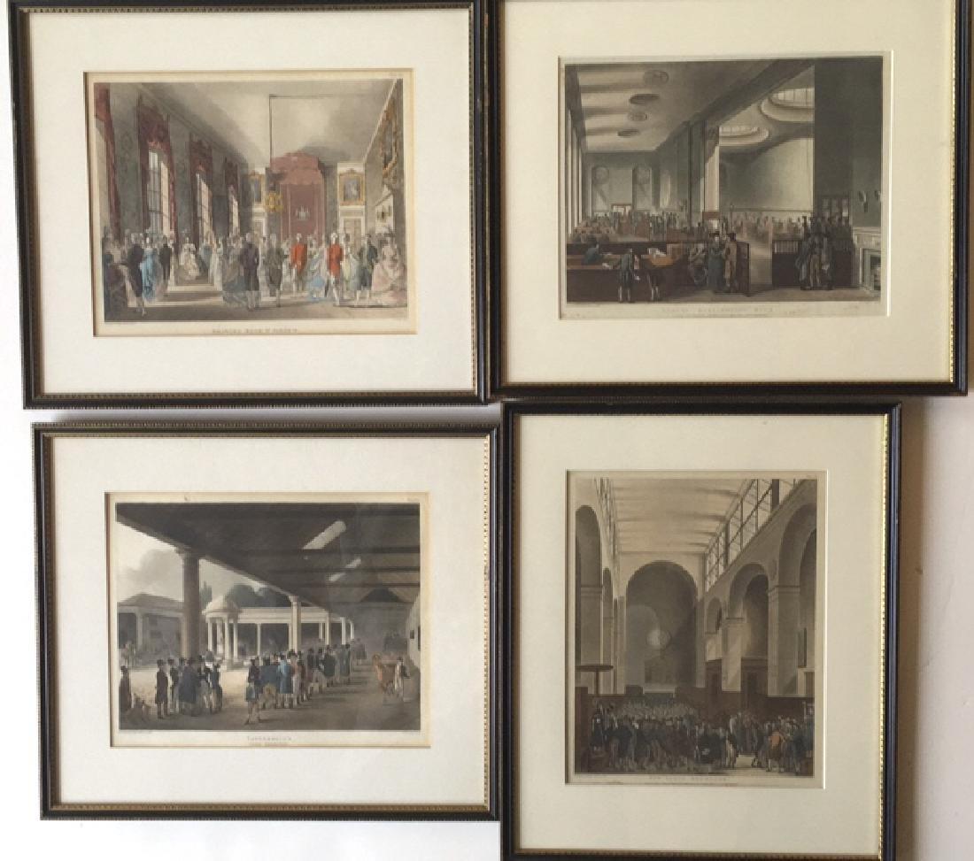 14 London scenes, Rowlanson & Pugin - 4