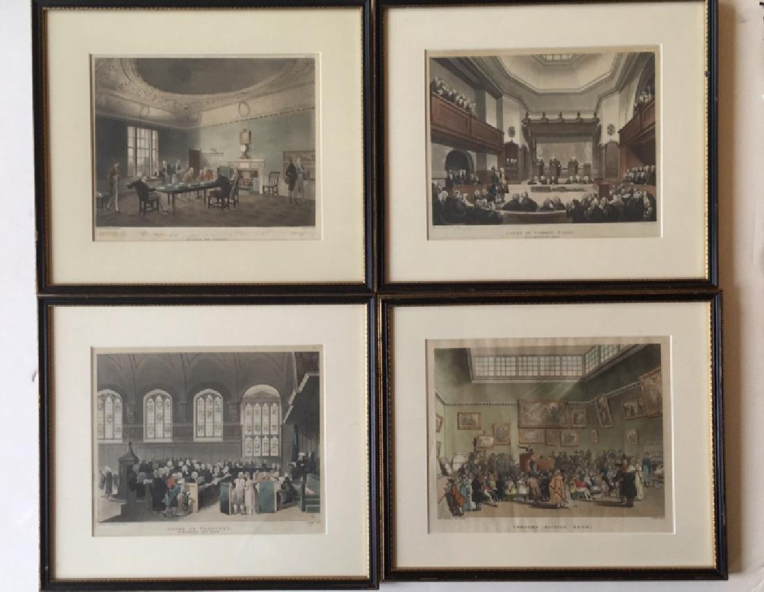 14 London scenes, Rowlanson & Pugin - 5