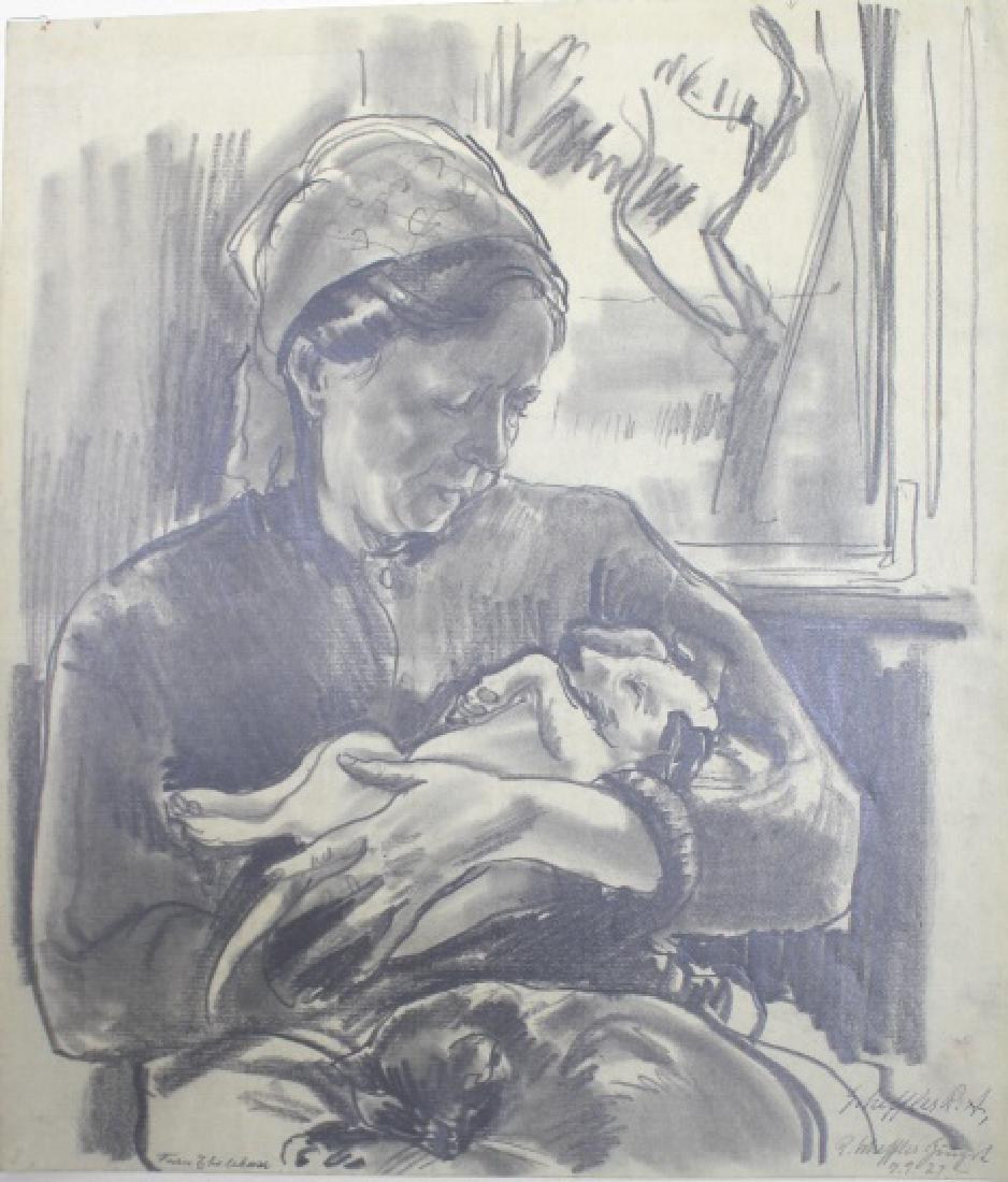 Rudolph Sheffler (German/American 1884-1973)