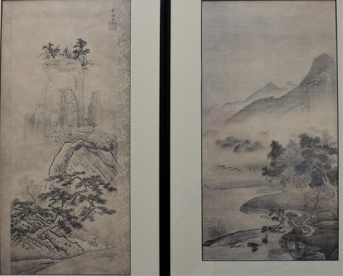 Two Asian prints