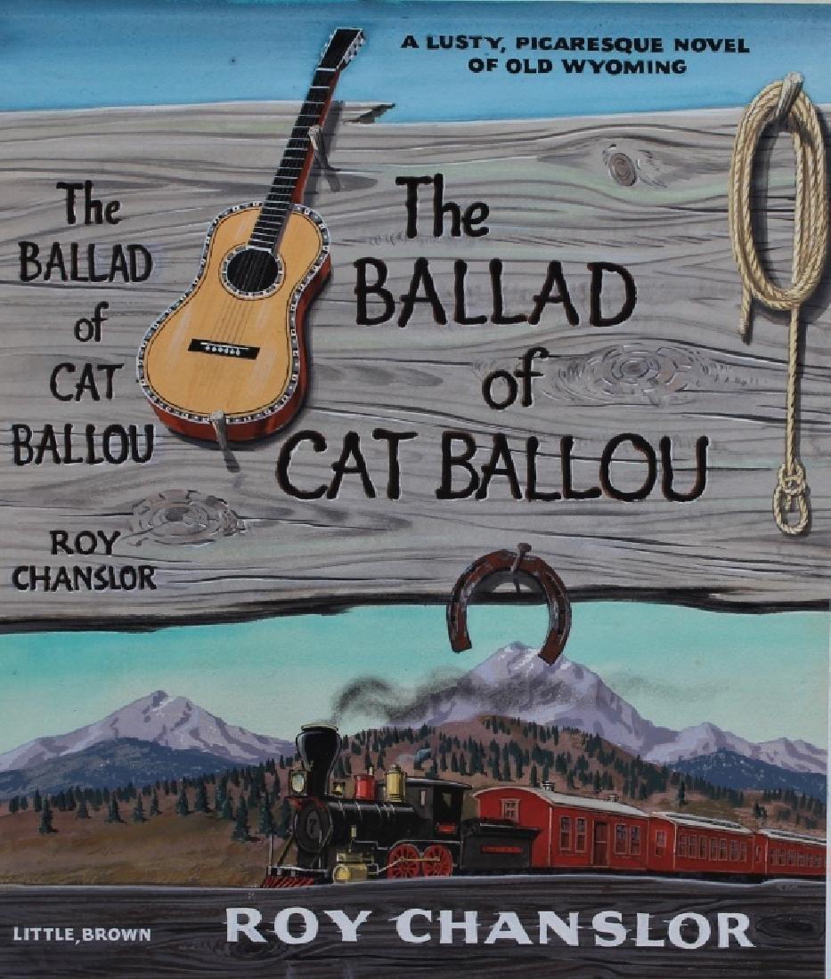 """The Ballard of Cat Ballou,"" Author Roy Chanslor"