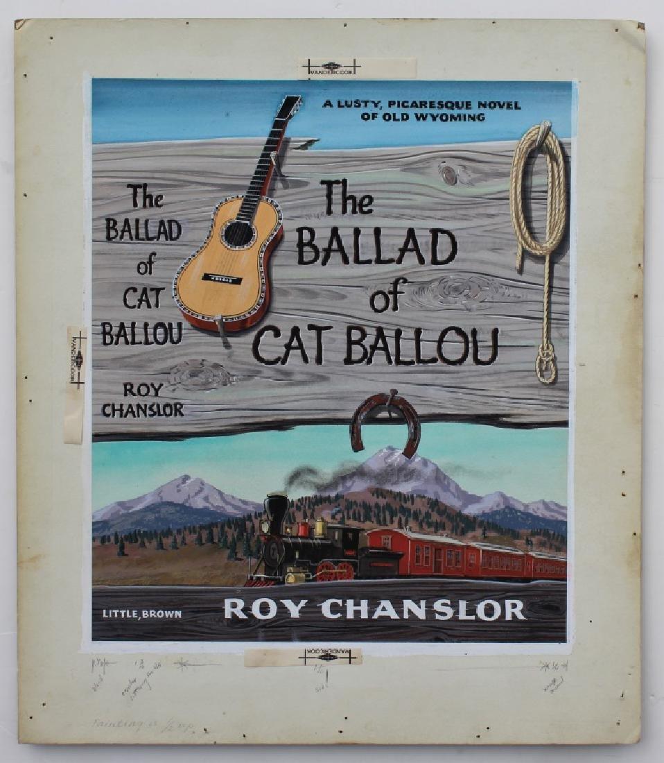 """The Ballard of Cat Ballou,"" Author Roy Chanslor - 2"