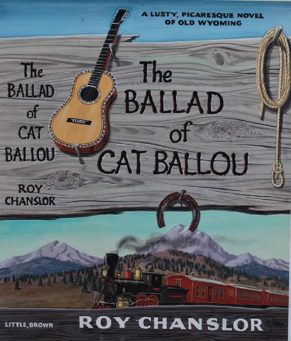 """The Ballard of Cat Ballou,"" Author Roy Chanslor - 3"