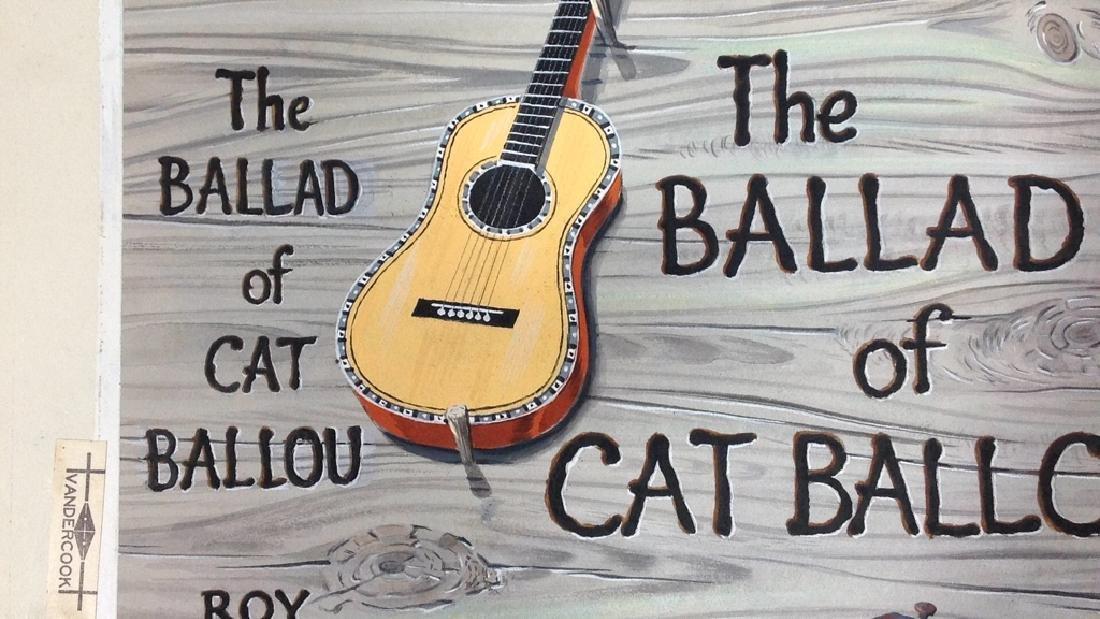 """The Ballard of Cat Ballou,"" Author Roy Chanslor - 7"