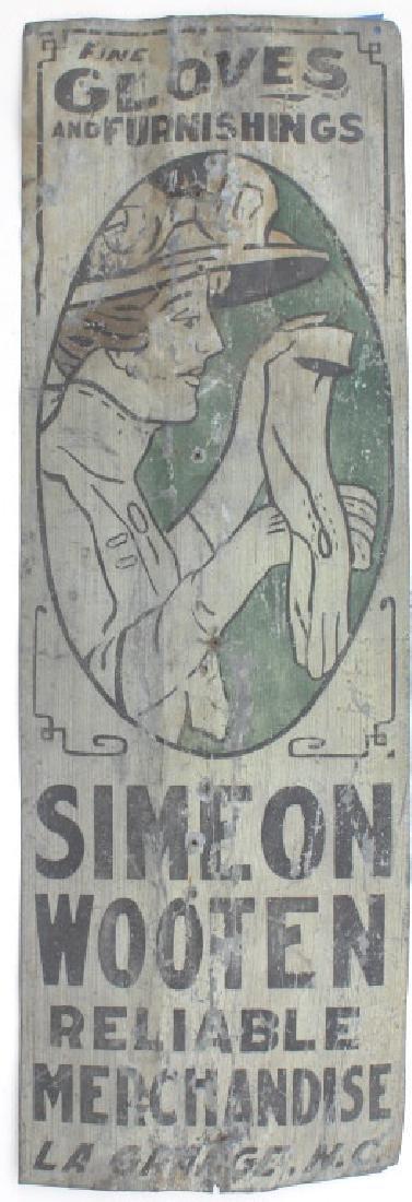 Old Tin sign