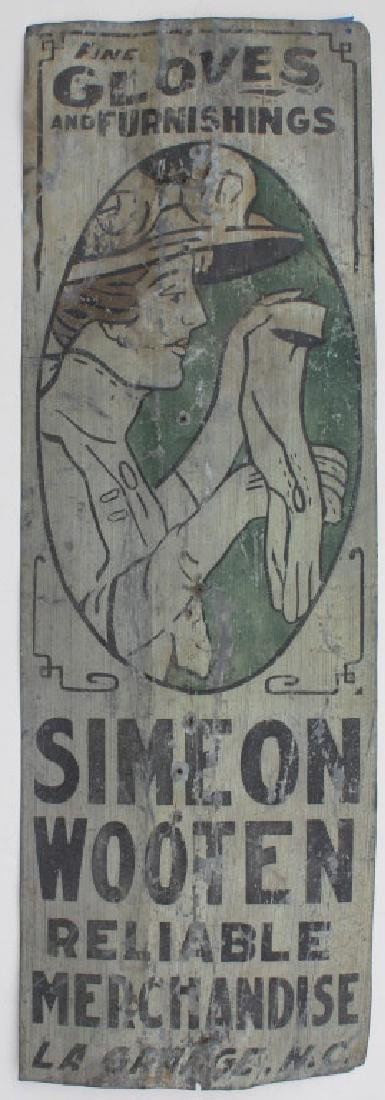 Old Tin sign - 2