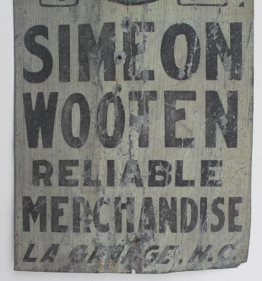 Old Tin sign - 3
