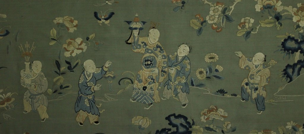 Chinese  hand stitched embroidery - 10