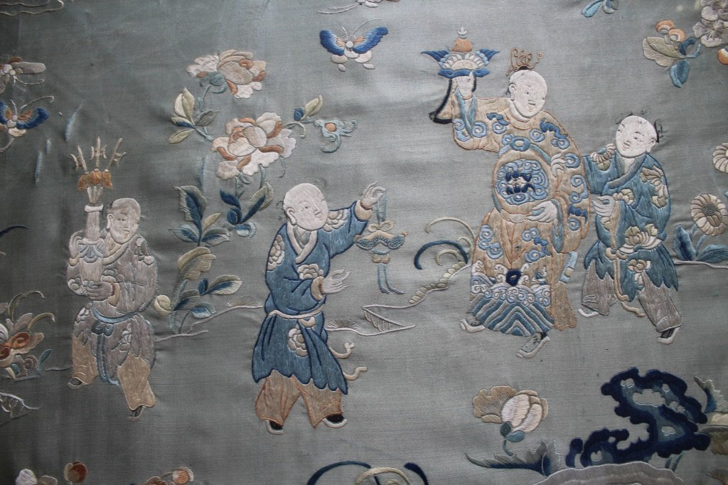 Chinese  hand stitched embroidery - 13