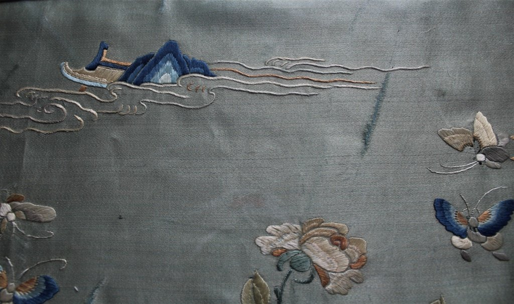 Chinese  hand stitched embroidery - 14