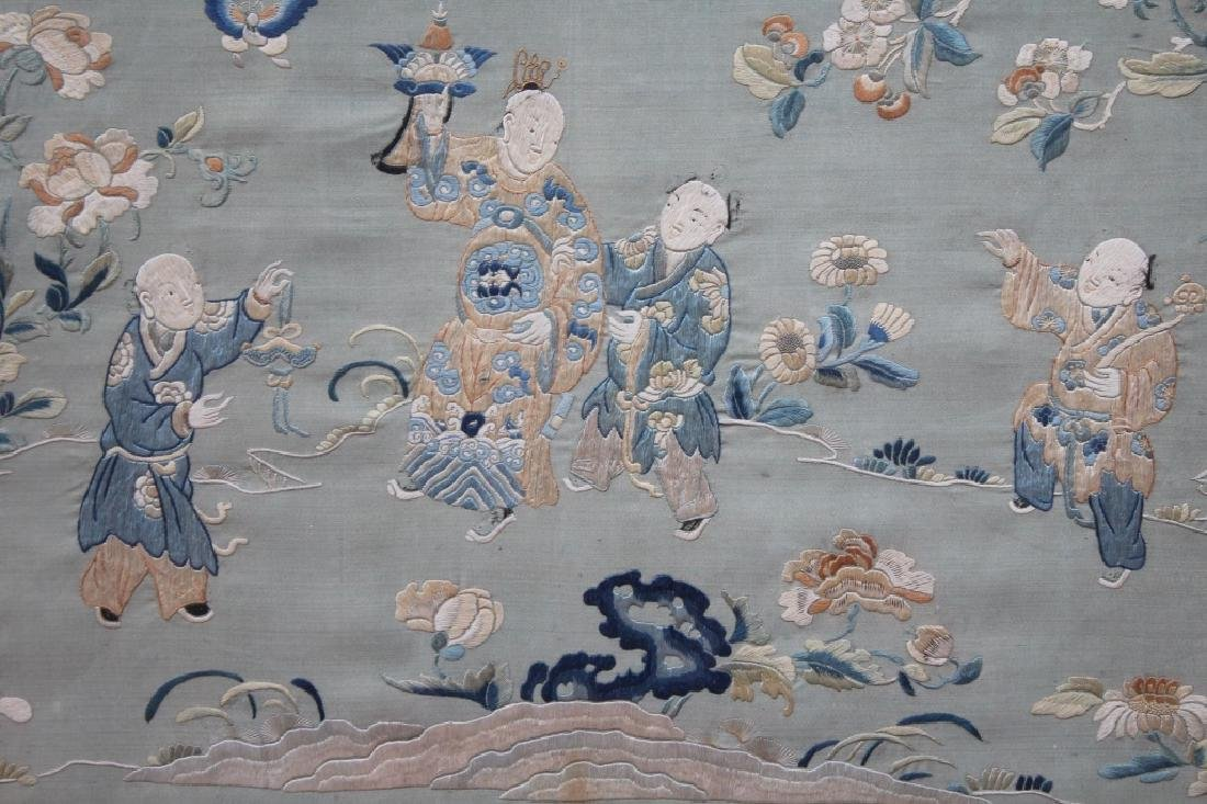 Chinese  hand stitched embroidery - 2