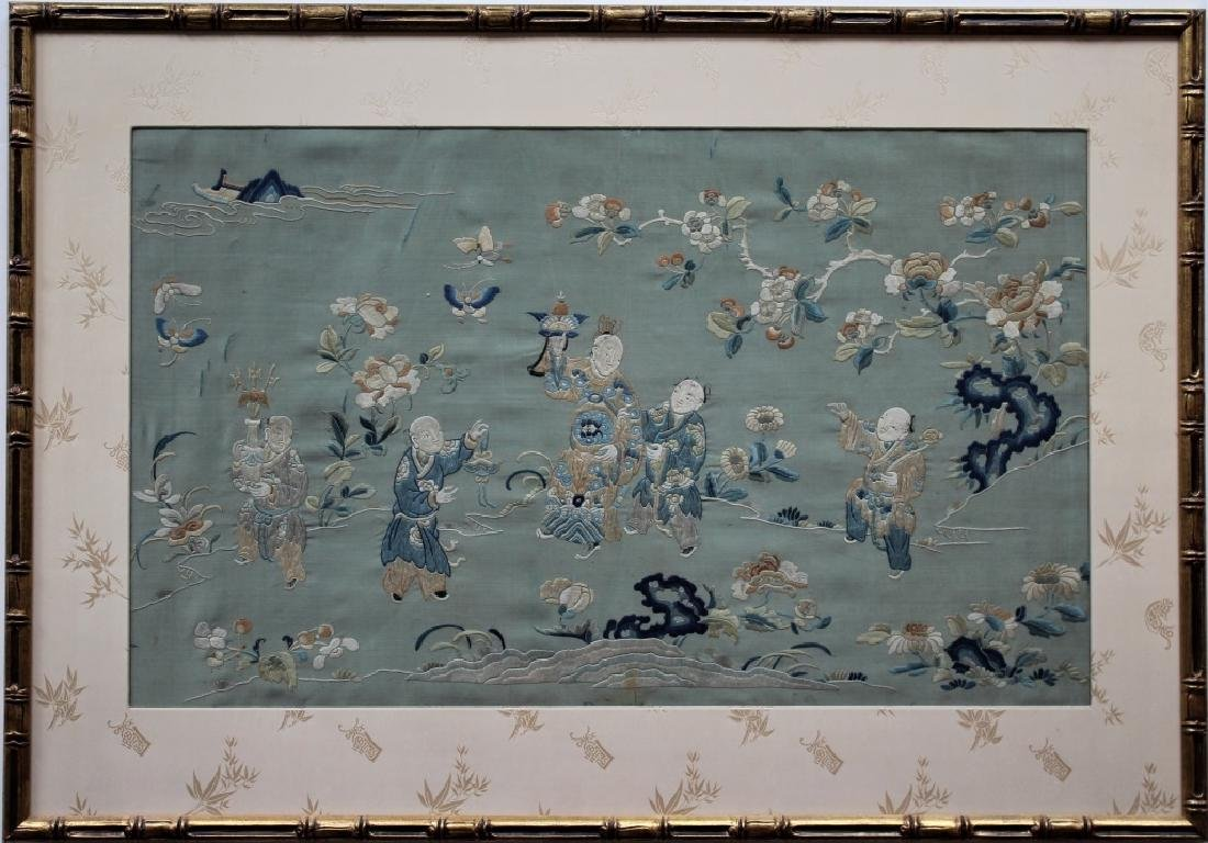 Chinese  hand stitched embroidery - 3
