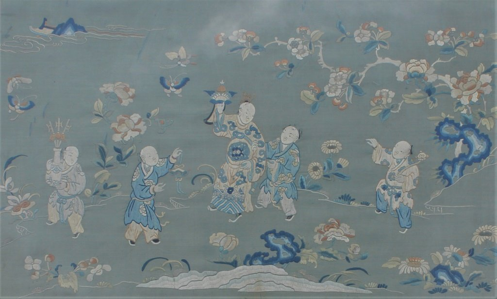 Chinese  hand stitched embroidery - 5