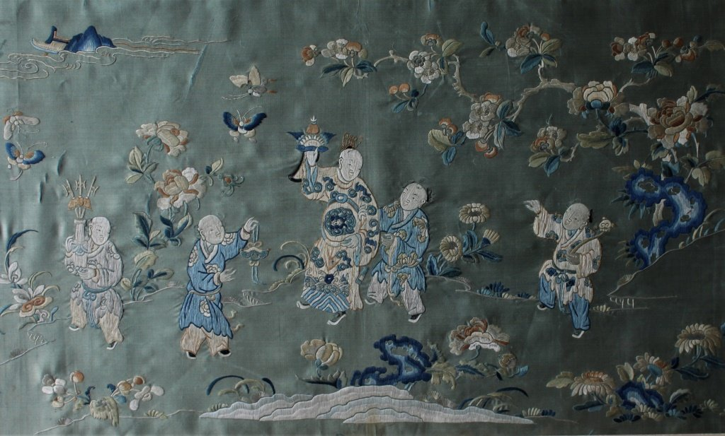 Chinese  hand stitched embroidery - 6