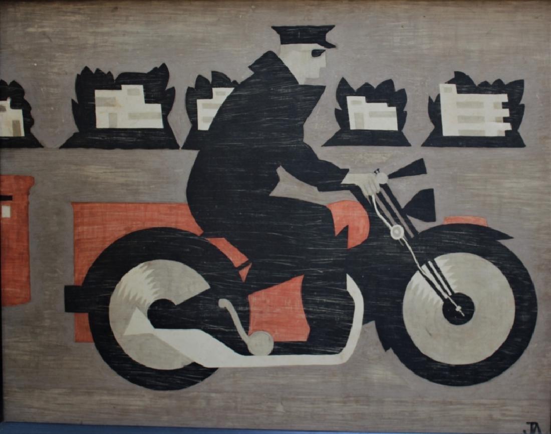 Modern Motorcycle Rider