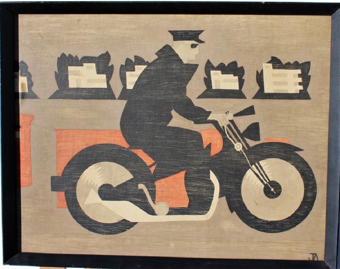 Modern Motorcycle Rider - 2