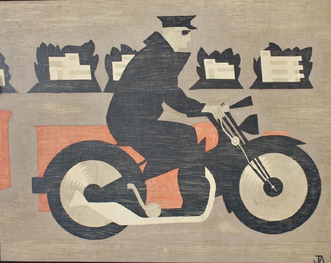 Modern Motorcycle Rider - 3
