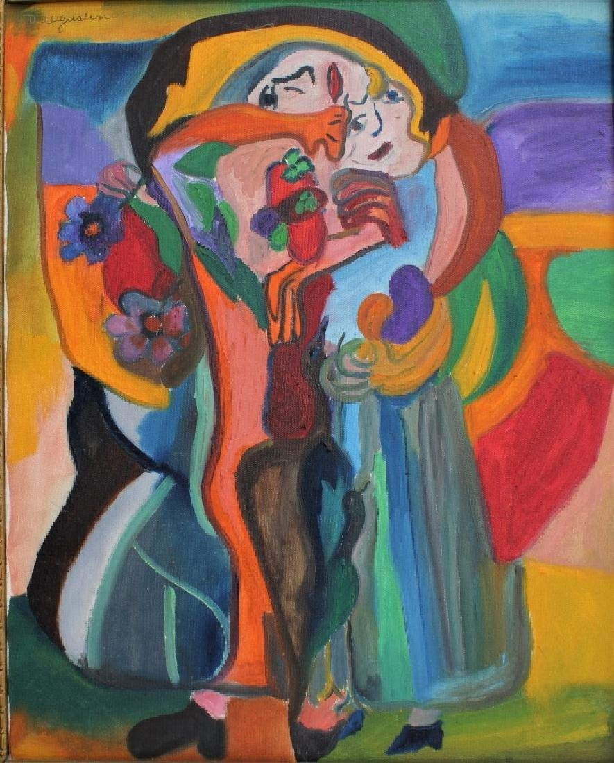 Modern Abstract portrait