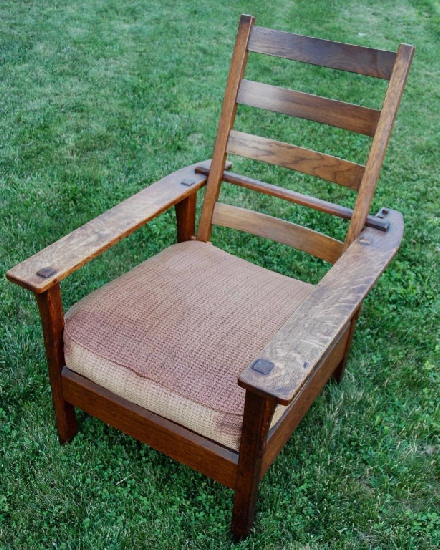 L. & L. G. Stickley Lounge chair