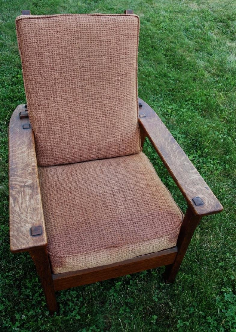 L. & L. G. Stickley Lounge chair - 9