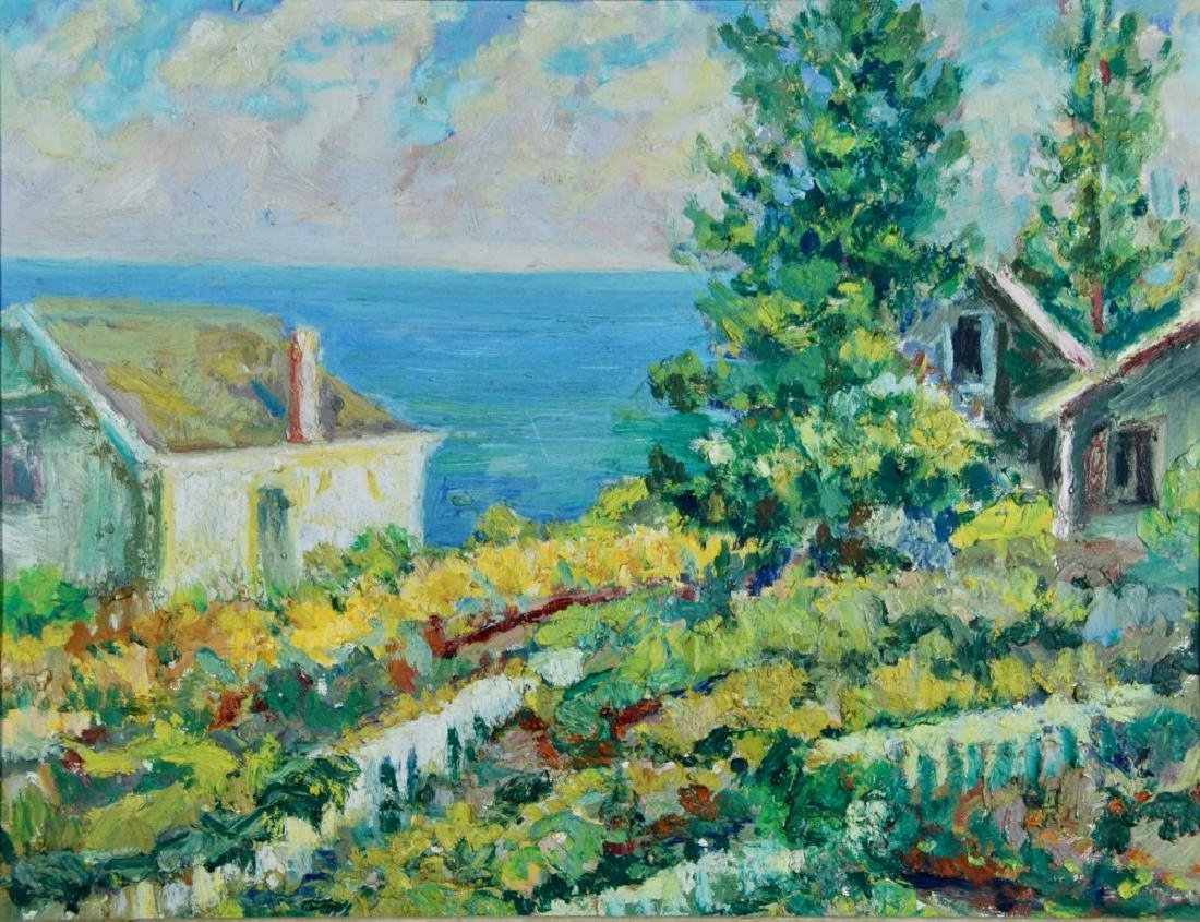 Impressionistic view to the Sea