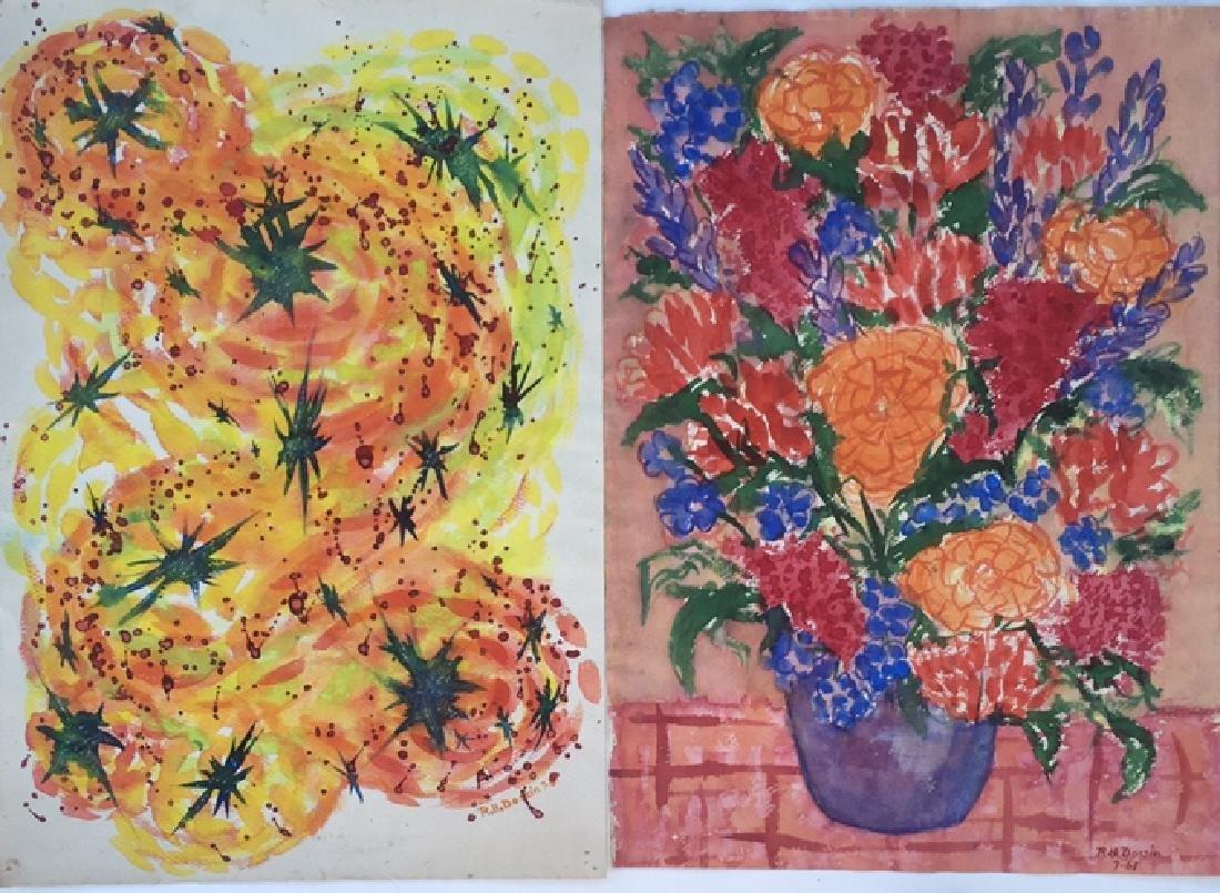 Batch of watercolors - 4