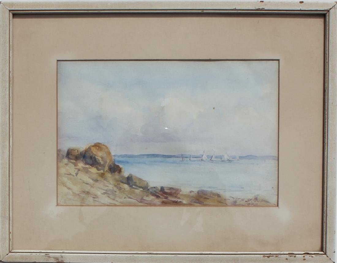 Shoreline watercolor - 2