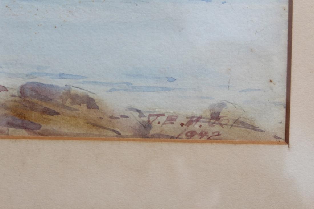 Shoreline watercolor - 3
