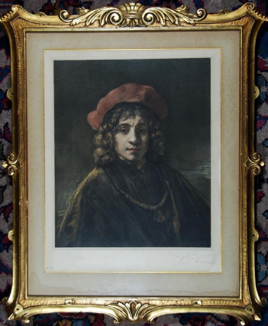 After Rembrandt, Titus, Rembrandt's Son - 2