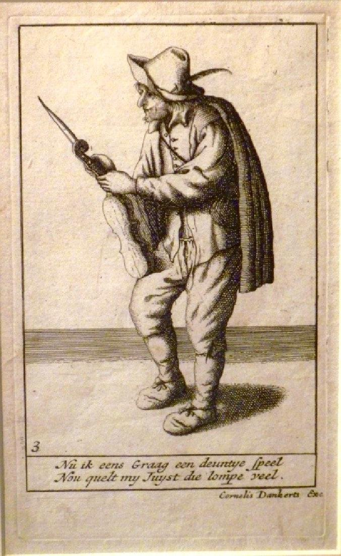 Pair of Cornelius Danckerts (1561 -1634)