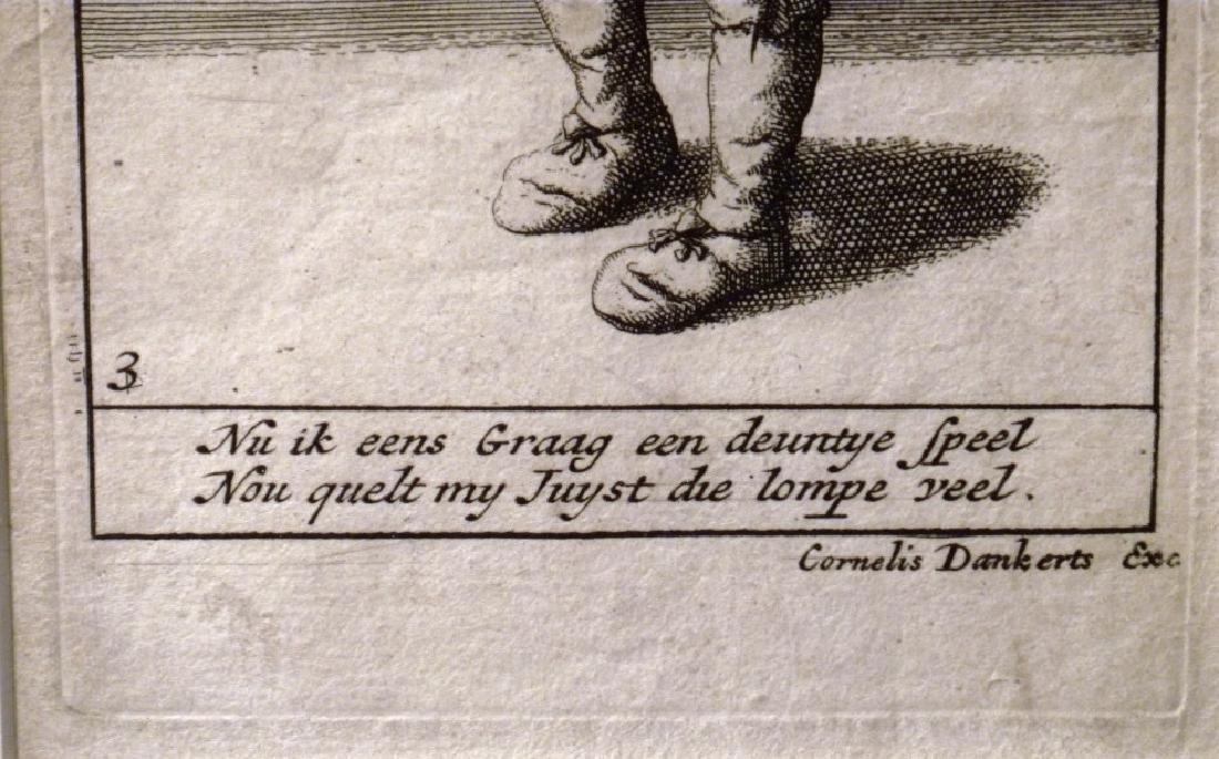 Pair of Cornelius Danckerts (1561 -1634) - 2