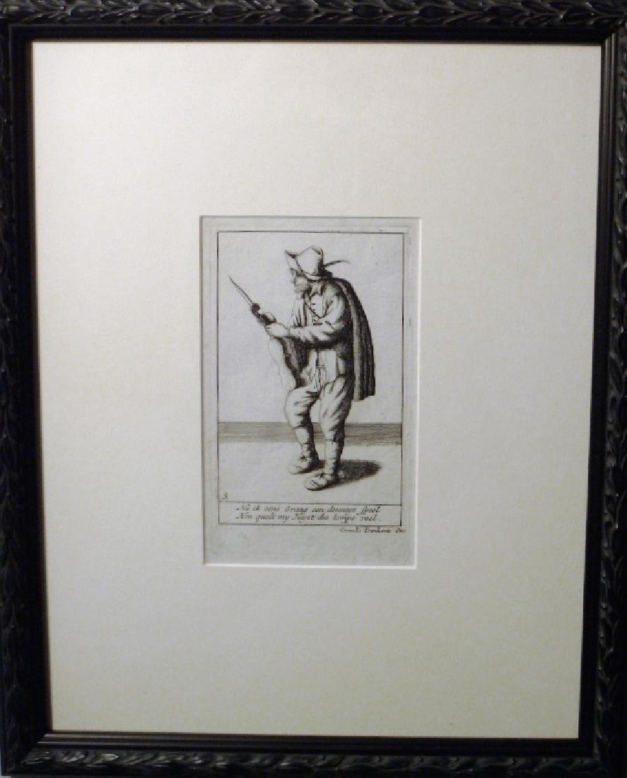 Pair of Cornelius Danckerts (1561 -1634) - 5