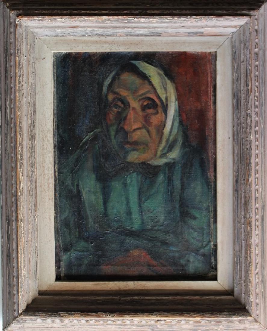 Portrait of elderly woman - 2