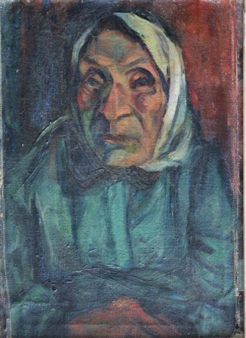 Portrait of elderly woman - 3