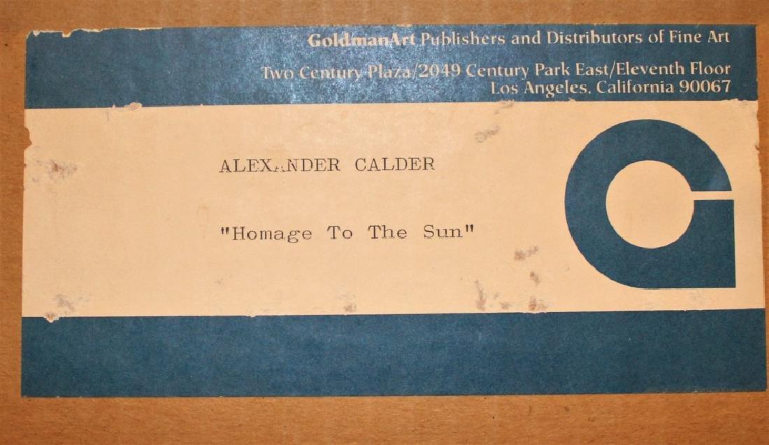 Alexander (Sandy) Calder  (1898 - 1976) - 10