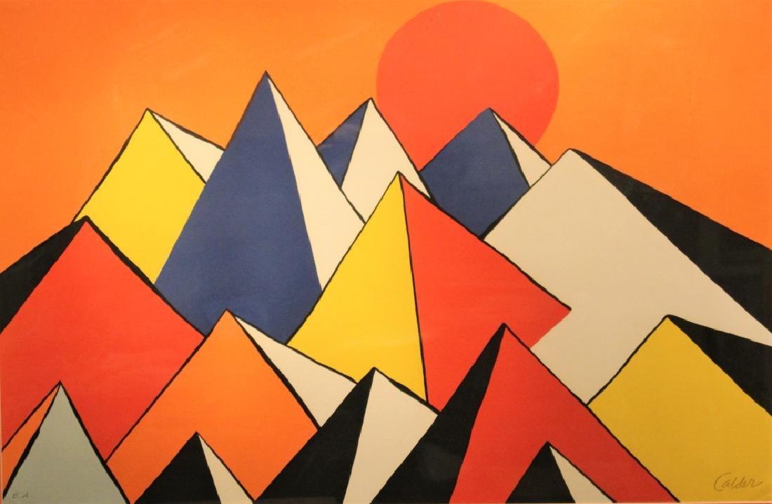 Alexander (Sandy) Calder  (1898 - 1976) - 3