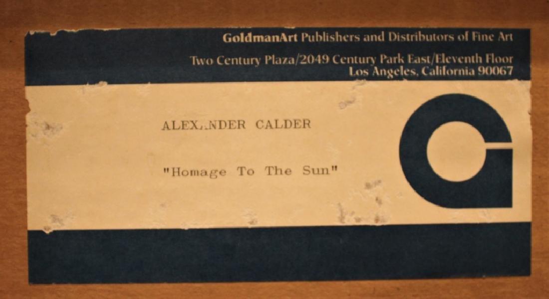 Alexander (Sandy) Calder  (1898 - 1976) - 9