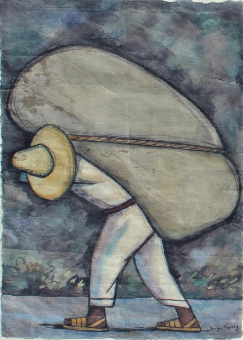 School of Diego Rivera  (1886 - 1957) - 3
