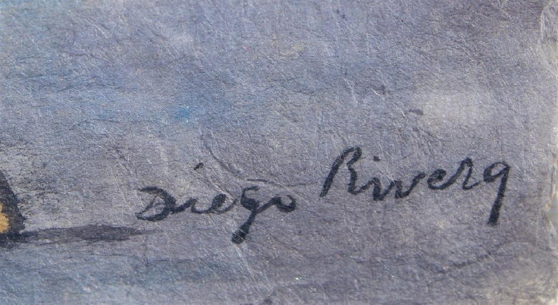 School of Diego Rivera  (1886 - 1957) - 4